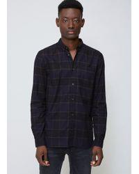Won Hundred - Ray Black Lester Shirt - Lyst