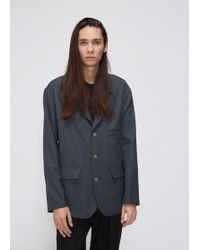 Lemaire - Soft Single-breasted Jacket - Lyst