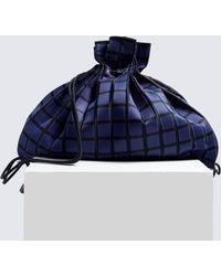 Issey Miyake - Linear Knit Drawstring Backpack - Lyst