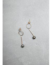 Mociun - Figure 1 Drop Earrings - Lyst