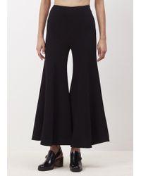 Xiao Li - Black Mid Bell Trousers - Lyst
