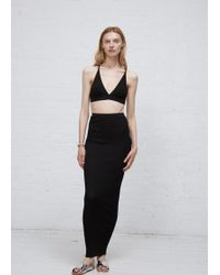 Dusan - Black Knit Skirt - Lyst
