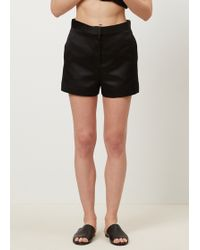 The Row - Black Shors Short - Lyst