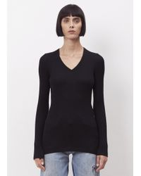 CALVIN KLEIN 205W39NYC - Black Coccoli Sweater - Lyst