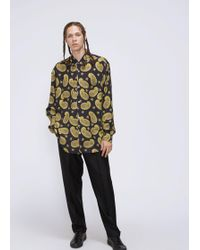 Our Legacy - Paisley Print Shirt - Lyst