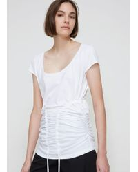 Y. Project - Corset T-shirt - Lyst