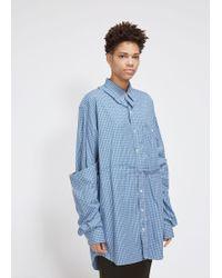 Vetements - Deconstructed Double Shirt - Lyst