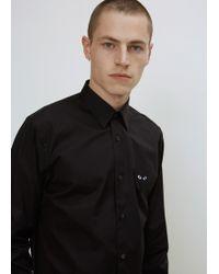 Play Comme des Garçons - Black Black Heart Shirt - Lyst