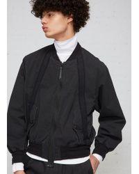 Robert Geller - Bertrand Paper Cotton Bomber Jacket - Lyst