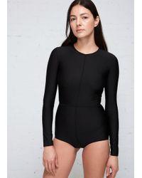 Ann Demeulemeester - Long Sleeve Bodysuit - Lyst