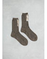 Rachel Comey - Lang Beaded Socks - Lyst