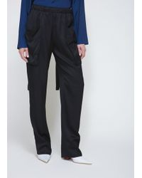 Cedric Charlier - Cargo Pocket Trousers - Lyst