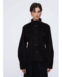 Lemaire - Large Sleeve Cotton Corduroy Jacket - Lyst