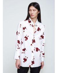 BED j.w. FORD - Rose Hi-neck Shirt - Lyst