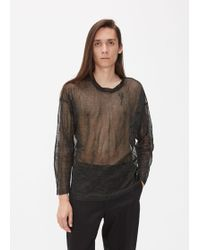 Our Legacy - Popover Roundneck Sweater - Lyst