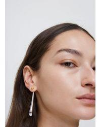 Charlotte Chesnais - Silver/yellow Vermeil Falless Earrings - Lyst