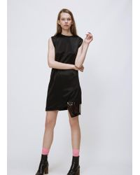 Toga | Black Double Face Jersey Dress | Lyst
