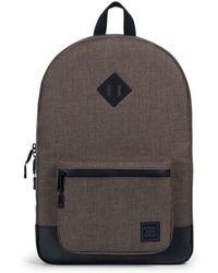 Herschel Supply Co. - Canteen / Black Ruskin Backpack - Lyst