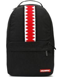 Sprayground - Black Ghost Vertical Shark Cargo Backpack - Lyst