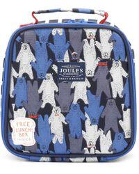 Joules - Black Multi Bear Camo Munch Bag - Lyst