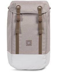 Herschel Supply Co. - Light Khaki Crosshatch Iona Backpack - Lyst