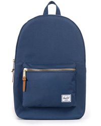 Herschel Supply Co. - Co. Navy Settlement Backpack Women's Backpack In Blue - Lyst