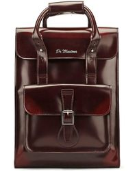Dr. Martens | Dr. Martens Cherry Red Vegan Small Backpack | Lyst