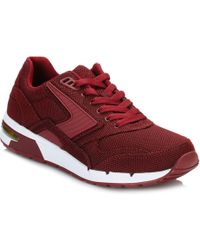 Brooks - Mens Syrah Burgundy Academia Fusion Trainers - Lyst