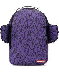 Sprayground - 3m Purple Wings Backpack - Lyst