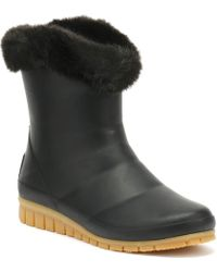 Joules - Womens Black Chilton Wellies - Lyst