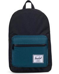 Herschel Supply Co. - Pop Quiz Black / Teal Backpack - Lyst