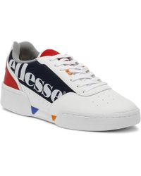Ellesse - Piacentino Womens White / Navy Trainers - Lyst