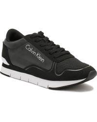 Calvin Klein Jeans - Mens Black Jude Reflex Trainers - Lyst