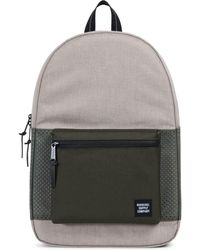 Herschel Supply Co. - Settlement Khaki Crosshatch Backpack - Lyst