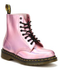 Dr. Martens - Pascal Rs Mallow Pink Ankle Boot - Lyst