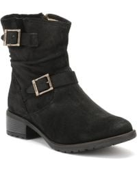 Barbour - Womens Black Waxy Hampstead Boots - Lyst