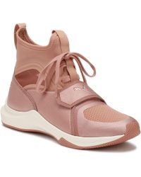 PUMA - Womens Selena Gomez Pink Phenom Sneakers Women's Shoes (high-top Trainers) In Pink - Lyst