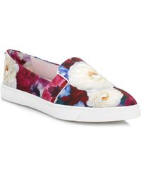Ted Baker - Womens Blushing Bouquet Thfia Trainers - Lyst