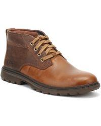 Caterpillar - Mens Light Brown Trenton Boots - Lyst
