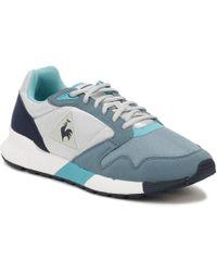 e853553d2d49 Le Coq Sportif - Womens Galet   Smoke Blue Omega X W Trainers - Lyst