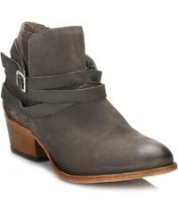Hudson Jeans - Womens Smoke Grey Horrigan Boots - Lyst