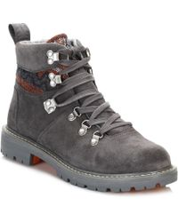 TOMS - Womens Iron Grey Summit Hiker Boots - Lyst