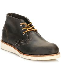 Red Wing - Mens Charcoal Rough Work Chukka Boots - Lyst