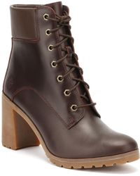 Timberland - Womens Redwood Burgundy Allington 6 Inch Boots - Lyst