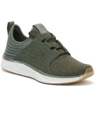 Skechers - Mens Olive Green Skyline Silsher Trainers - Lyst