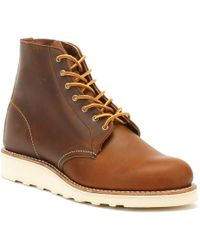 Red Wing - Round Toe Brown Copper Womens Boots - Lyst