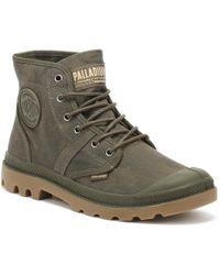 Palladium - Pallabrousse Wax Mens Major Brown Boots - Lyst