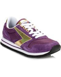 Brooks - Womens Deep Purple/gold Chariot Trainers - Lyst