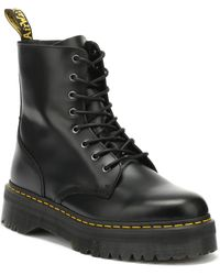Dr. Martens - Dr. Martens Jadon Black Platform Boots - Lyst