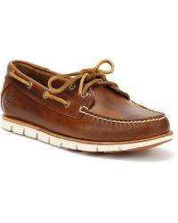 Timberland - Mens Brown Sahara Brando Tidelands 2 Eye Shoes - Lyst